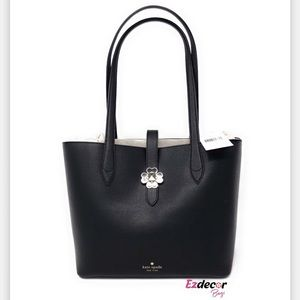 NWT Kate Spade Kaci Small Leather Tote Black